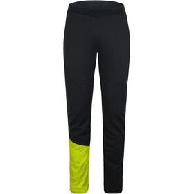 Ziener Nataniel Active Pants Men, negro/verde